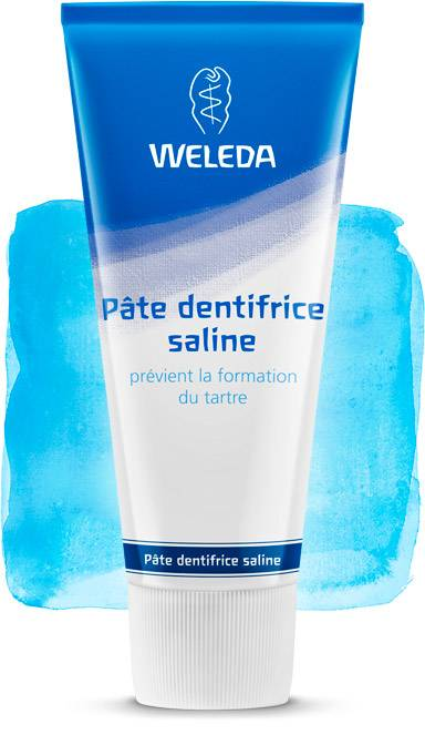 Weleda Dentífrico natural Salino (Made in Germany)