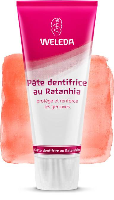 Weleda Dentífrico natural Ratania (Made in Germany)