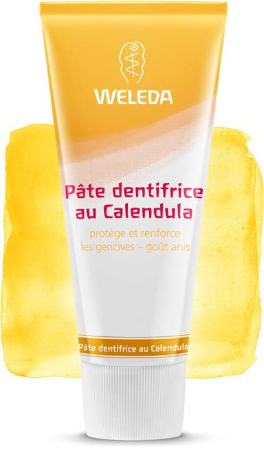 Weleda Dentífrico natural con Caléndula (Made in Germany)