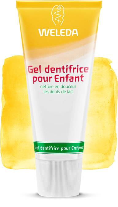 Weleda gel dentífrico natural para Niño (Made in Germany)