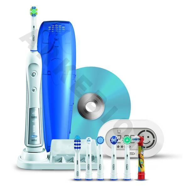 Cepillo de dientes eléctrico Oral-B TriZone Triumph 5000 Smart Guide    TriZone 021084b56ba1