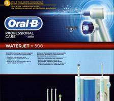 Oral-B irrigador Waerjet + OC16 Professional Care 500