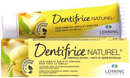 Lehning Dentífrico natural - Con minerales del Dr. Schüssler (Made in France)