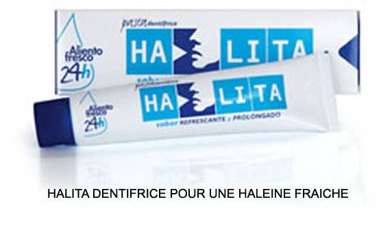 Halita dentífrico pasta 75 ml (Dentaid)