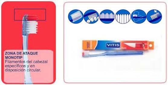 Vitis Access cepillo duro 22/100 (Dentaid)
