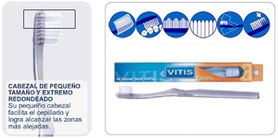 Vitis Access cepillo medio 20/100 (Dentaid)