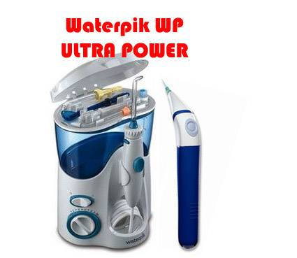 Irrigador dental Waterpik Ultra WP-100 + Power Flosser